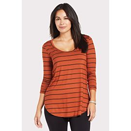 Billie Stripe Tunic Tee