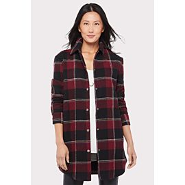 Plaid Damen Coat