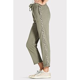 Trouser Sweatpant with Animal Trim