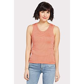 Shine Stripe Scoop Tank