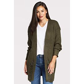 Yvette Destructed Cardigan