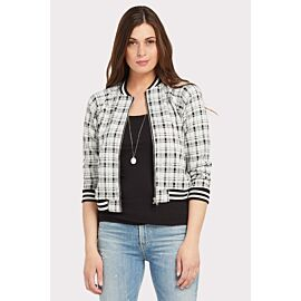 Well Plaid Bomber