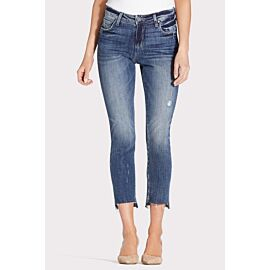 Reese Ankle Straight with Step Hem