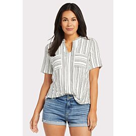 Stripe Two Pocket Tee