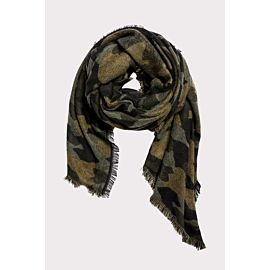 Camouflage Blanket Scarf