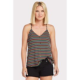 Thea Button Up Rib Tank