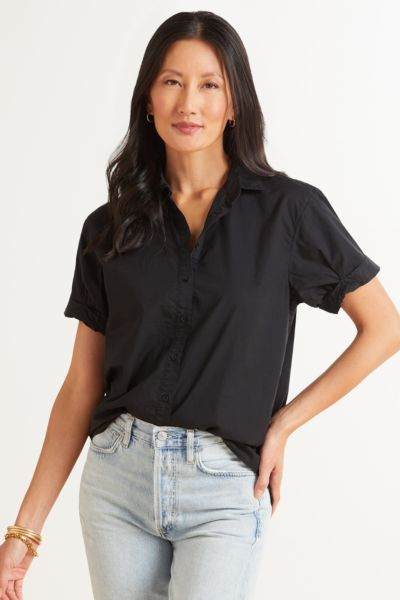 Katherine Classic Rolled Button Down