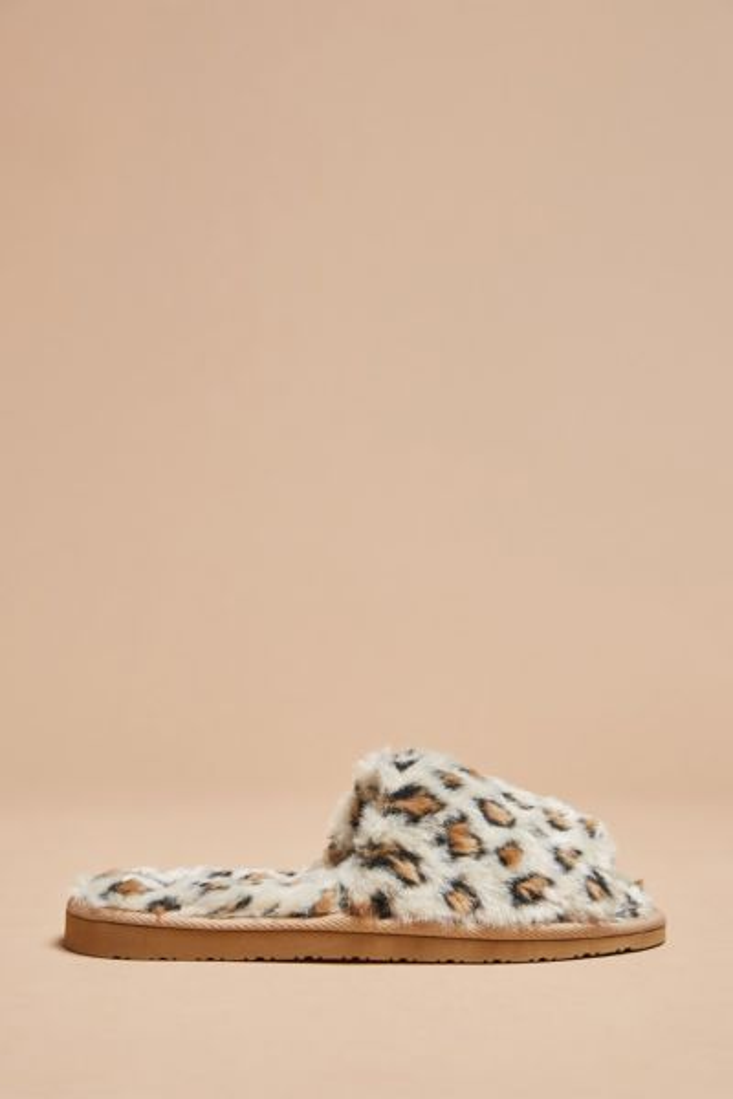 Lolo Leopard Slide Slipper