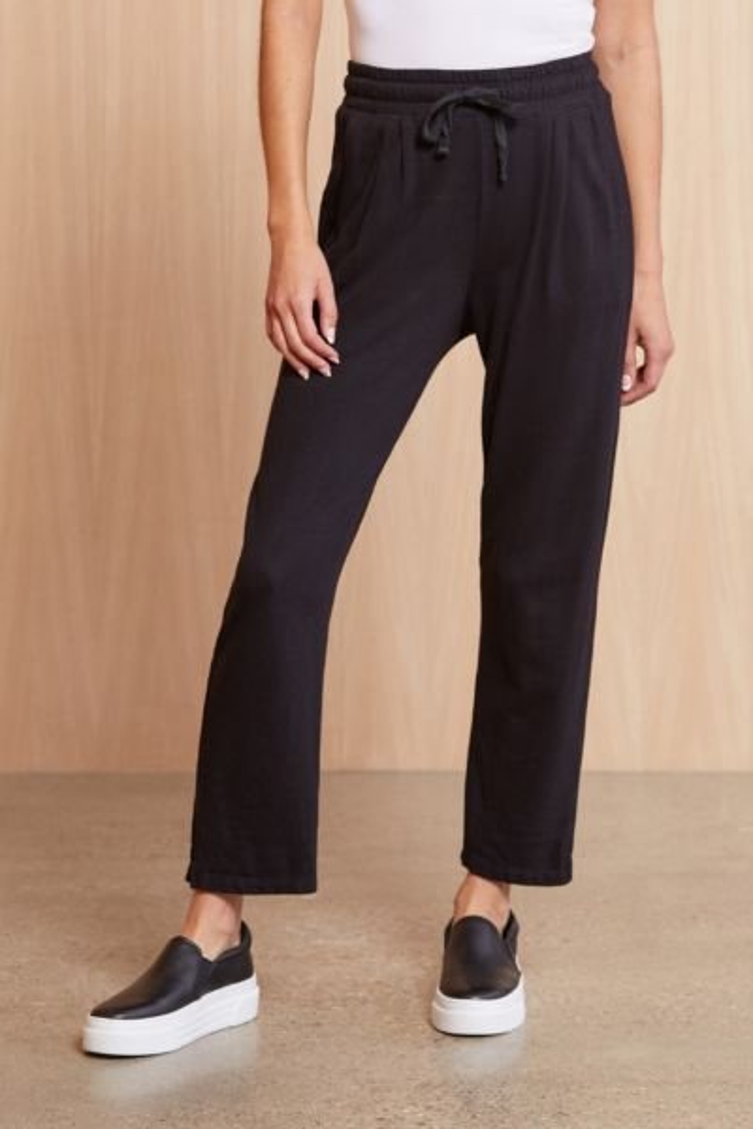 Pleated Trouser Sweatpant