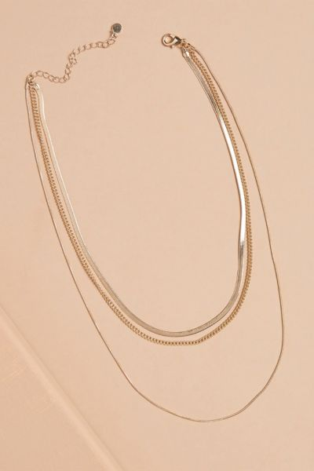 Andi Triple Strand Necklace