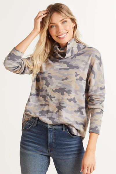 Marcy Camo Thermal Tunic