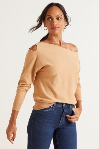 Genevieve Cut Out Pullover