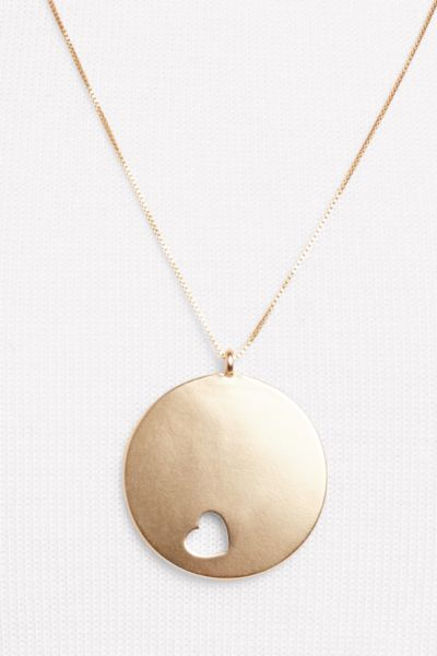 Thirty-nine 42 Act with Heart Pendant Necklace
