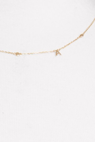 Thirty-nine 42 Ali Initial Necklace