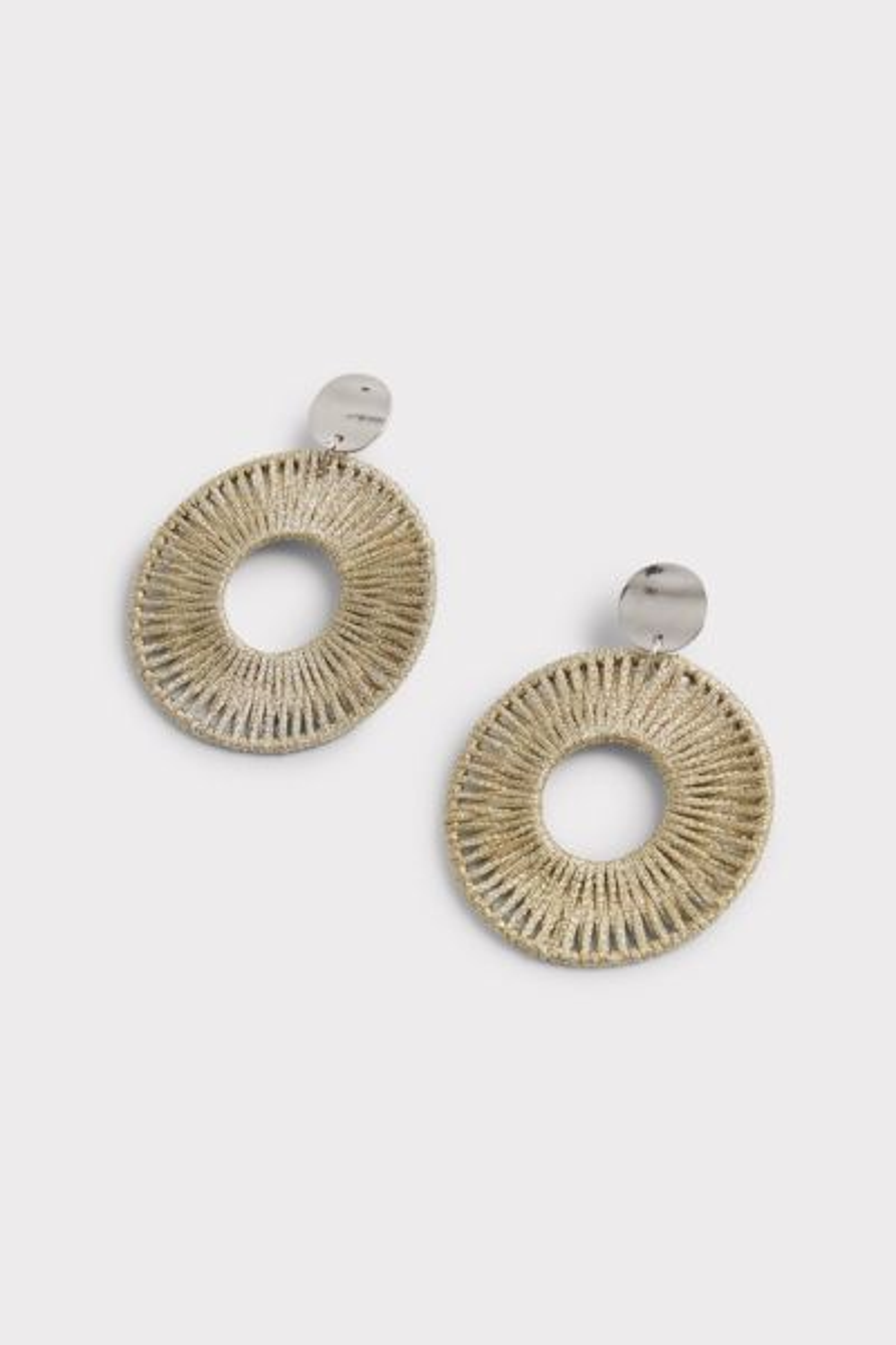 Thirty-nine 42 Stella Metallic Woven Earrings