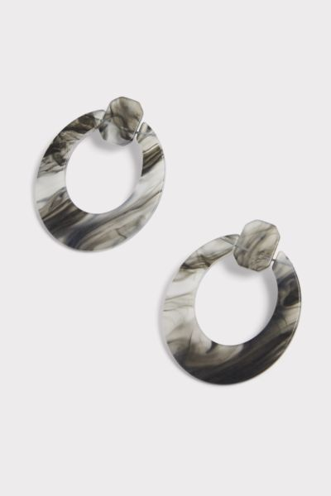 Thirty-nine 42 Felicity Matte Resin Earrings