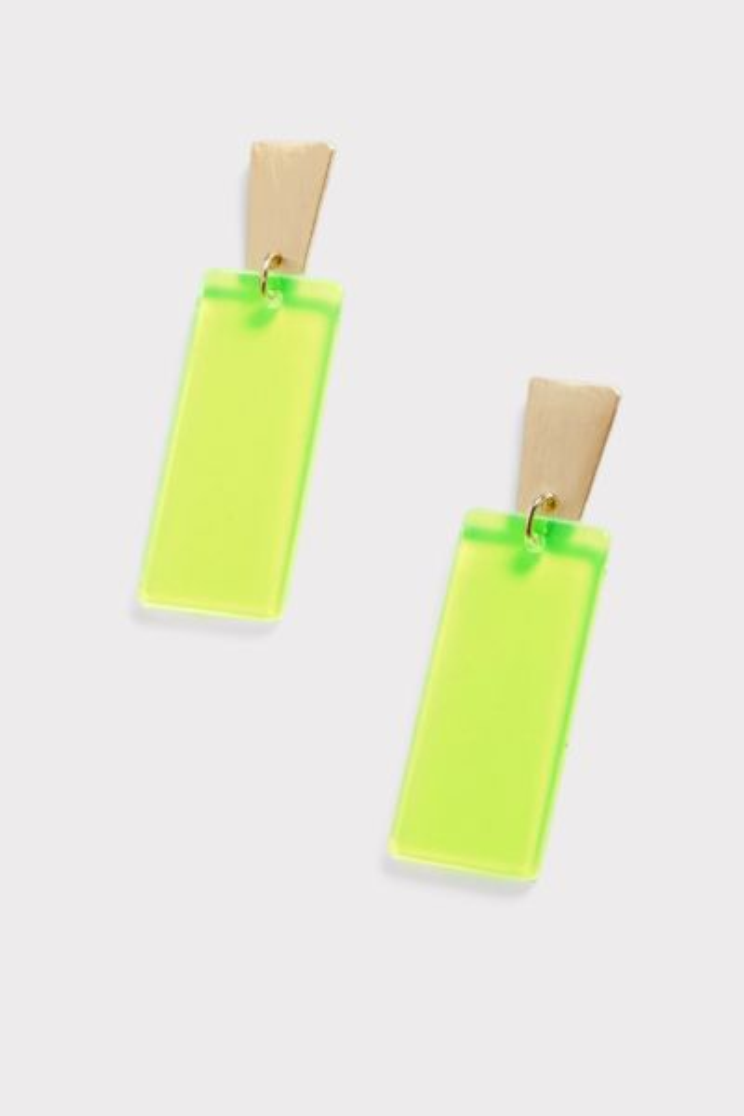 Thirty-nine 42 Jackie Neon Bar Earrings