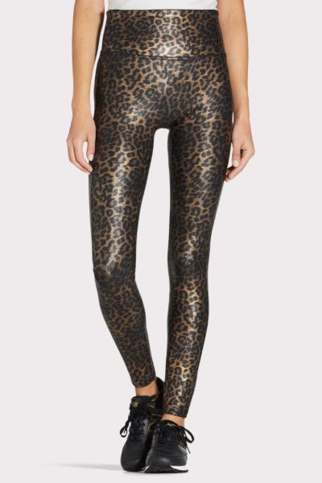 Spanx Faux Leather Leopard Legging