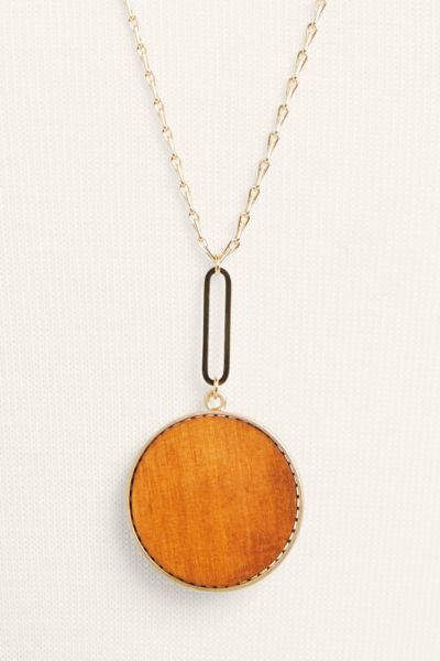 Thirty-nine 42 Kais Reversible Pendant Necklace