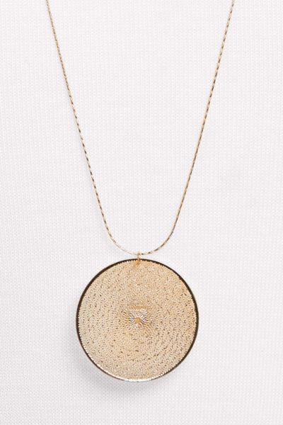 Thirty-nine 42 Kyle Woven Pendant Necklace