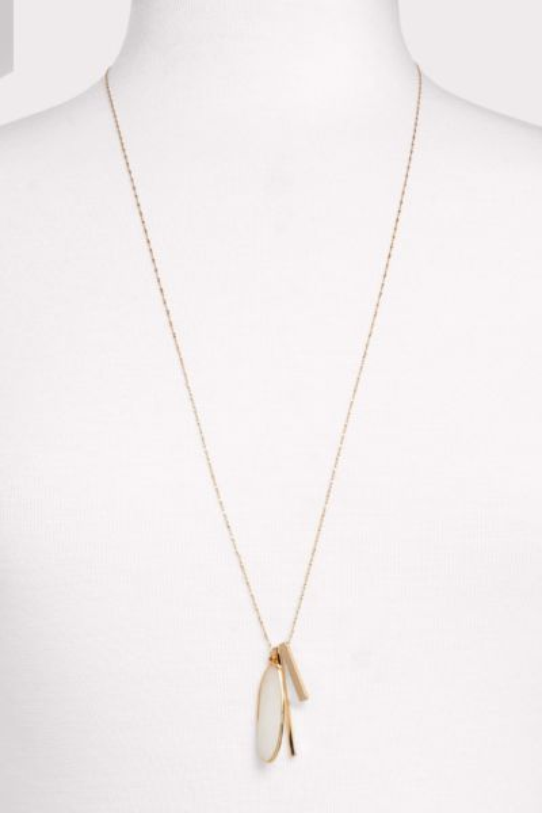 Thirty-nine 42 Baylor Stone Pendant Necklace