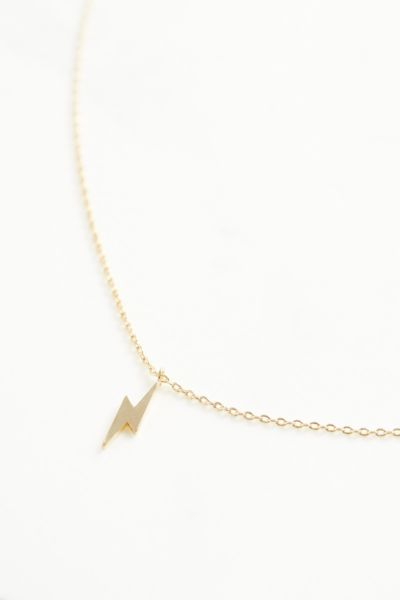 Thirty-nine 42 Lightning Bolt Necklace