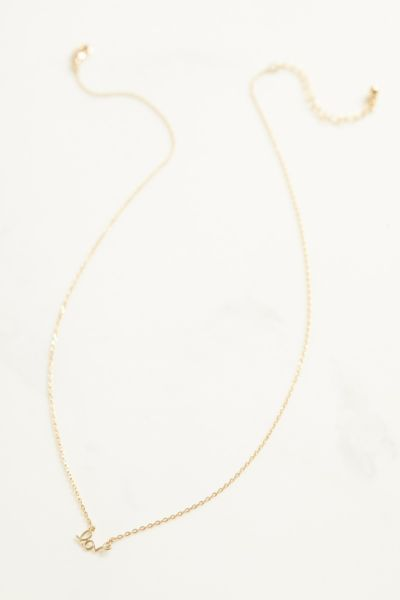 Thirty-nine 42 Love Necklace