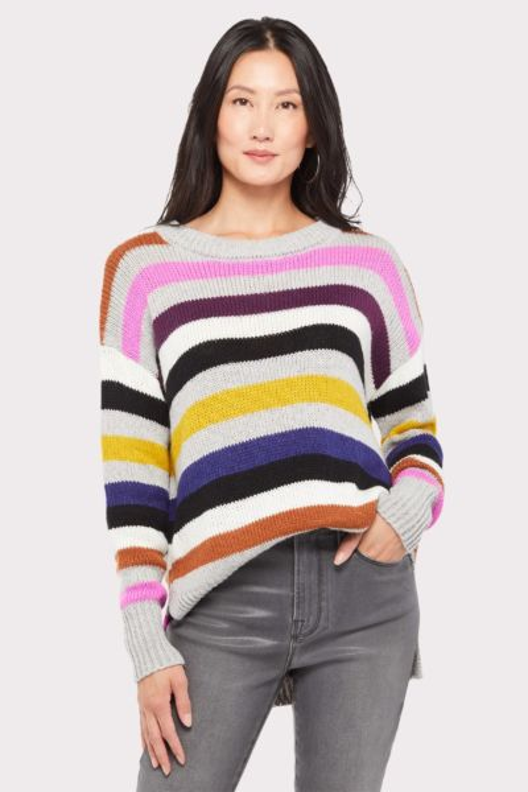Allison joy Annie Multi Stripe Sweater