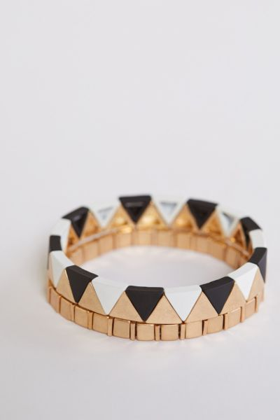 Thirty-nine 42 Reva Triangle Bracelets