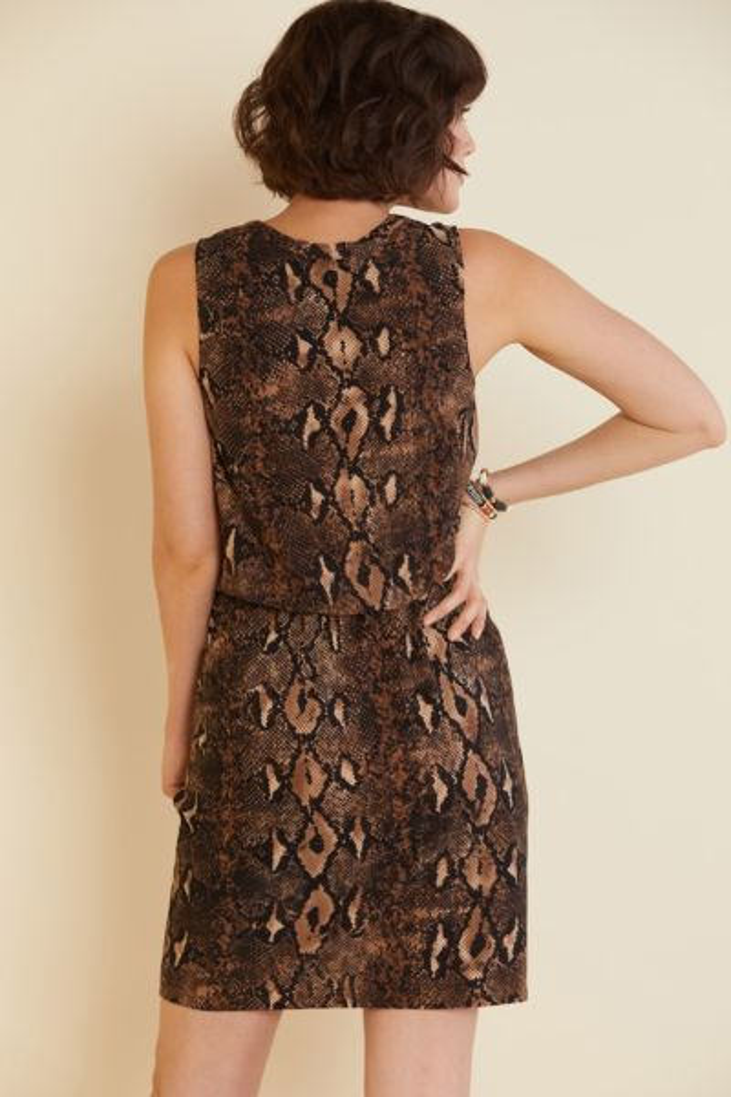 Sunday in brooklyn Snake Knit Tank Dress