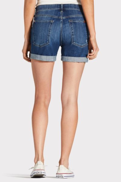 7 for all mankind Roll Destroy Short
