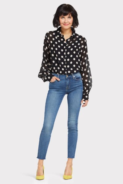 Sanctuary Slone Blouson Sleeve Top