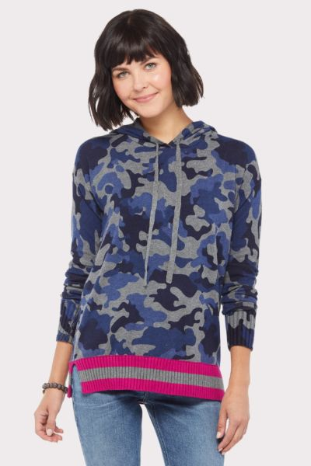 Jamison Camo Hoodie Sweater