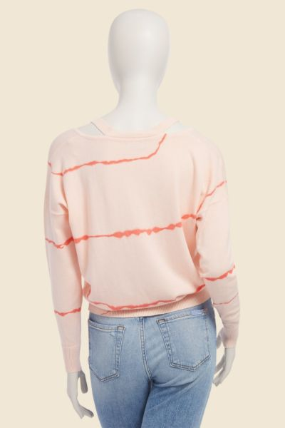 Jamison Tie Dye Cut Out Pullover