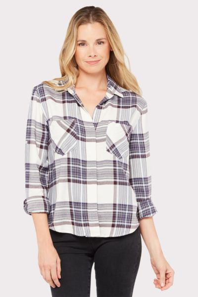 Cloth and stone Glacier Point Split Back Button Down