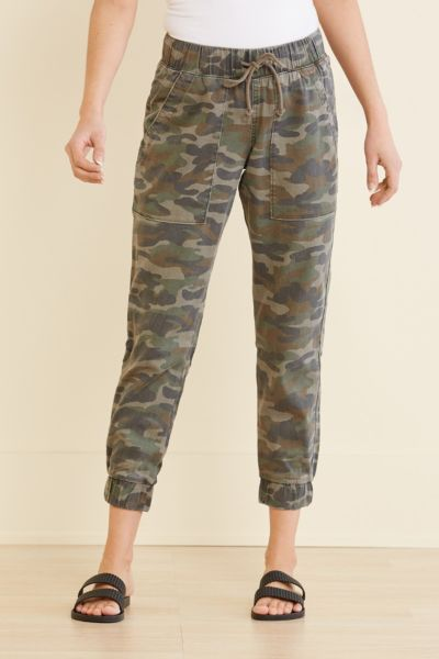 Cloth and stone Camo Pocket Jogger