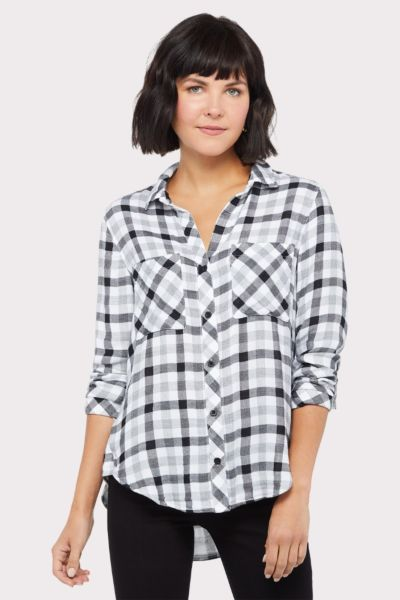 Cloth and stone Snow White Button Down