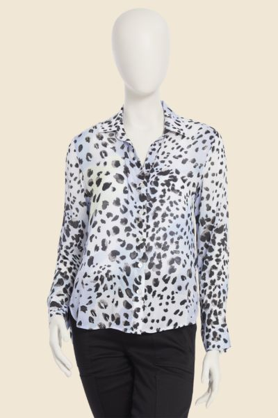 Cloth and stone Leopard Tie Dye Button Down