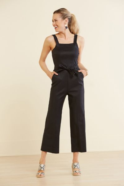 Level 99 Stretch Linen Jumpsuit