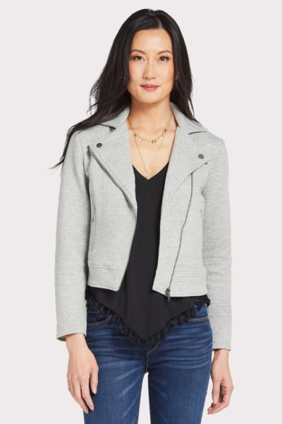 Cupcakes and cashmere Wesley Knit Moto