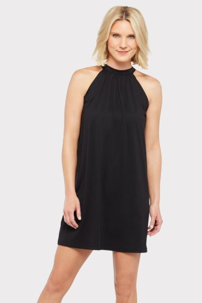 Susana monaco Mock Neck Shift Dress
