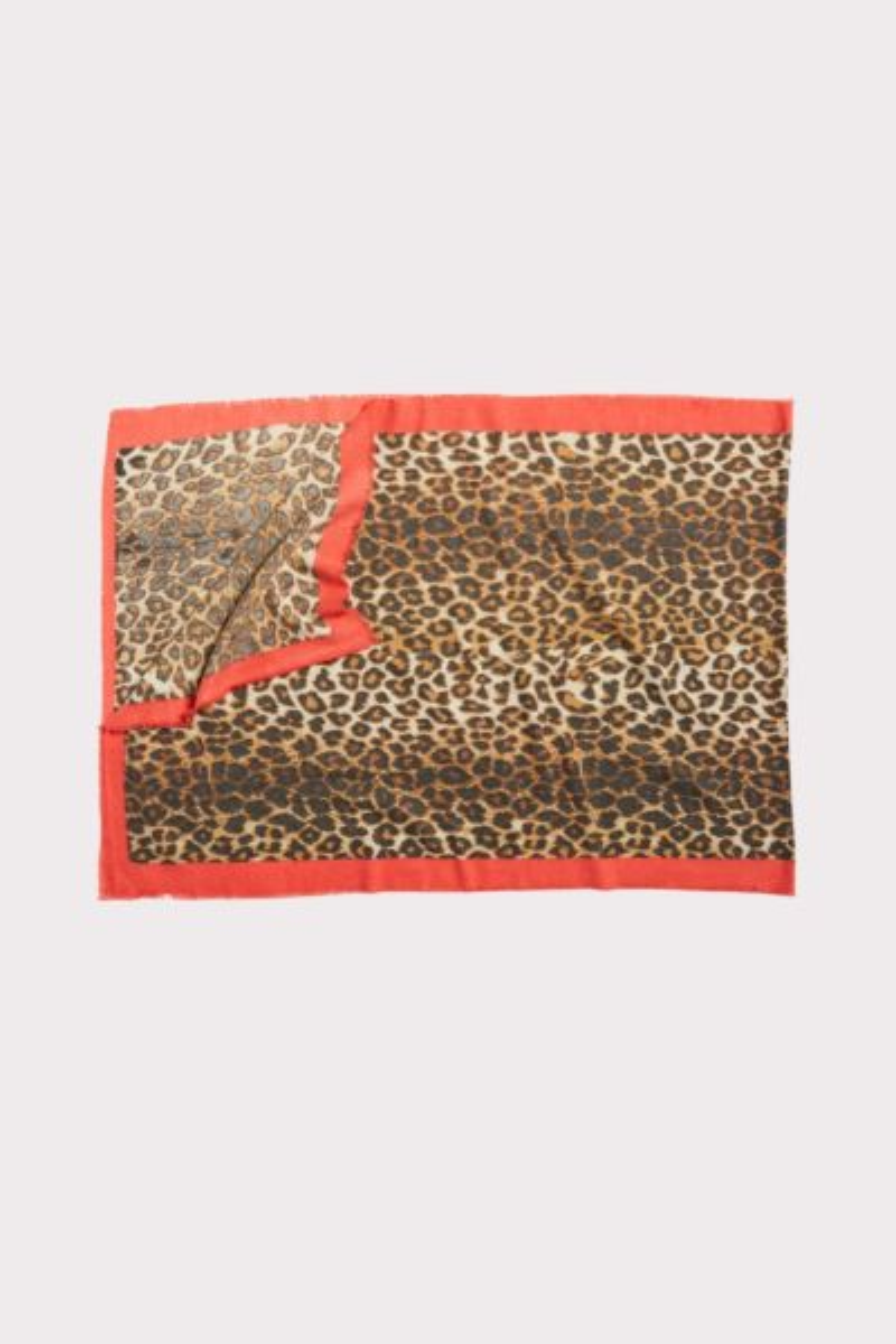 Harriet isles Border Leopard Scarf