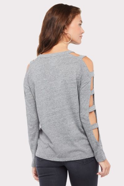 Chaser Strappy Cutout Tee