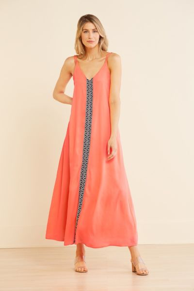 Allison joy Vanessa Neon Maxi Dress