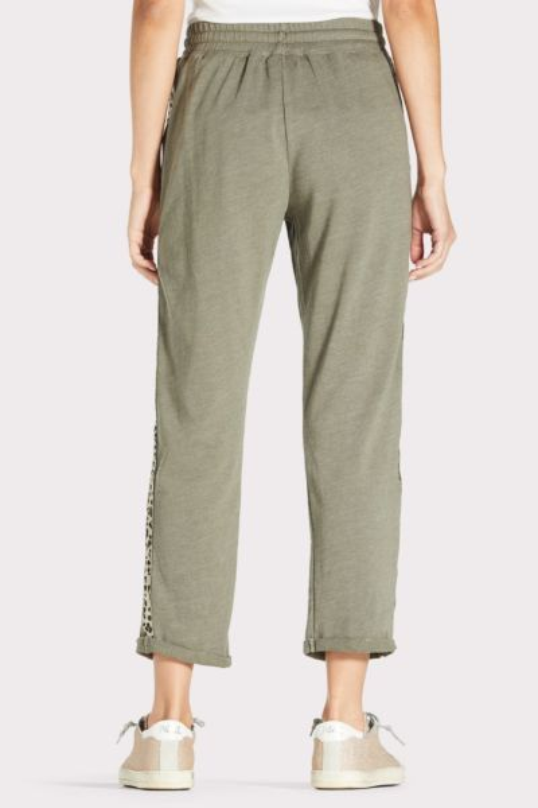 Sundry Trouser Sweatpant with Animal Trim