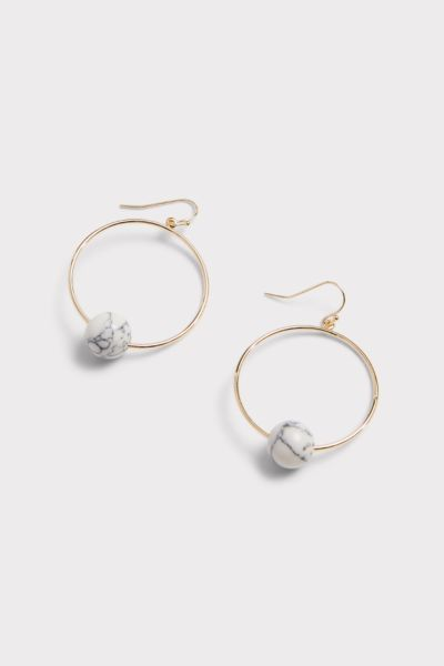 Thirty-nine 42 Maribel Stone Hoop Earrings