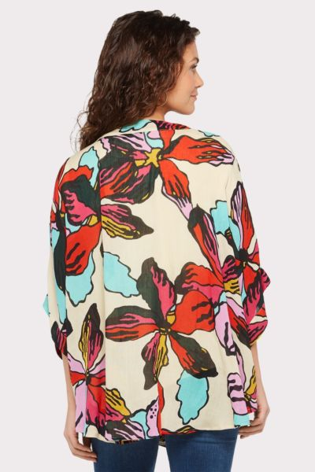 Allison joy Lela Floral Kimono