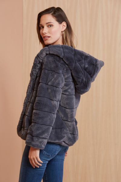 Apparis Goldie Faux Fur Coat