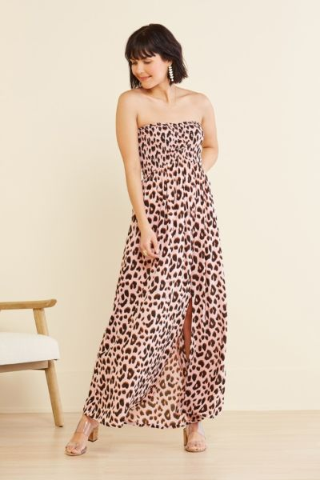 Tiare hawaii Strapless Maxi Dress