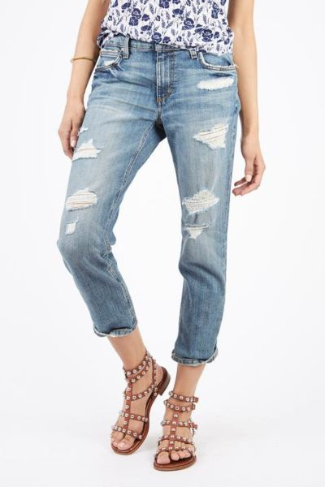 Joes jeans Boyfriend Slim Crop